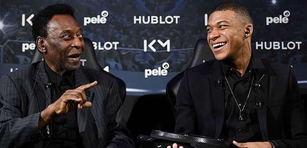 As inspirações brasileiras de Mbappé: Pelé, Ronaldo, ...