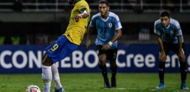 Brasil vence o Uruguai com tranquilidade pelo Pré-Olímpico