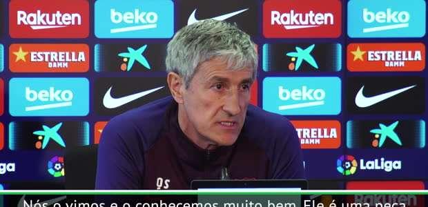 """La Liga: Setién sobre Rodrigo Moreno: """"é um jogador ..."""
