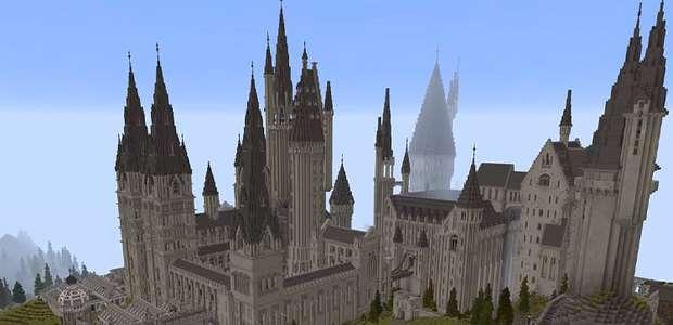Escola de Hogwarts em Minecraft levou 7 anos para ser ...
