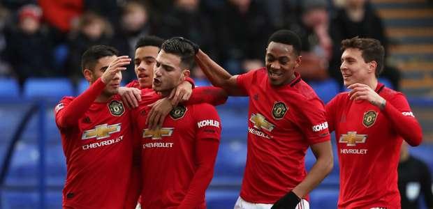 United goleia Tranmere e avança na Copa da Inglaterra