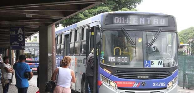Tarifa de ônibus da EMTU e VLT de Santos sofrem reajuste