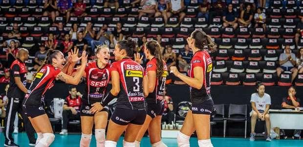Sesi/Bauru vence clássico com Osasco pela Superliga feminina