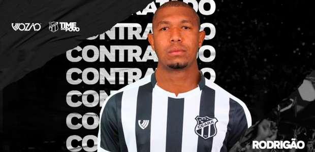 Após marcar pela 1ª vez pelo Ceará, Rodrigão desabafa: ...