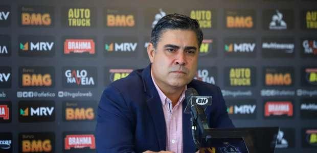 """Presidente do Atlético-MG diz que não vai """"cruzeirar"""""""