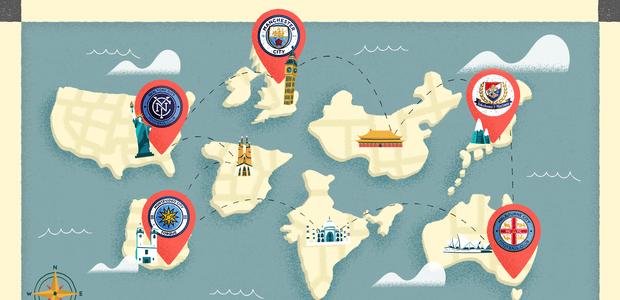 O plano do Manchester City para a 'dominação mundial': ...