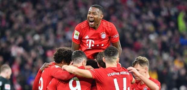 Bayern de Munique volta aos treinamentos em pequenos grupos