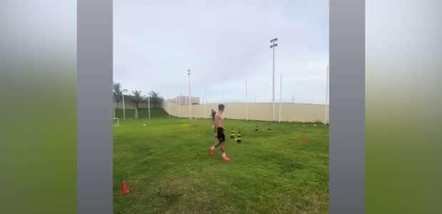 FORTALEZA: Marlon segue sua rotina intensa de treinos