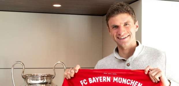 Muller renova contrato com o Bayern de Munique até 2023