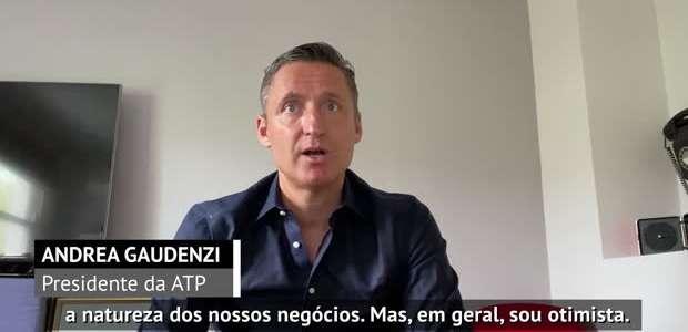 """TÊNIS: ATP: Gaudenzi sobre quarentena: """"O lado positivo ..."""