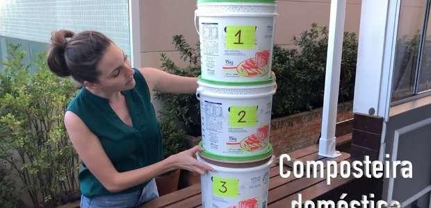 Como fazer uma composteira caseira (vídeo)