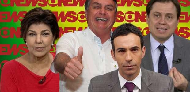 """GloboNews engrossa contra Bolsonaro: """"Contaminou quantos?"""""""