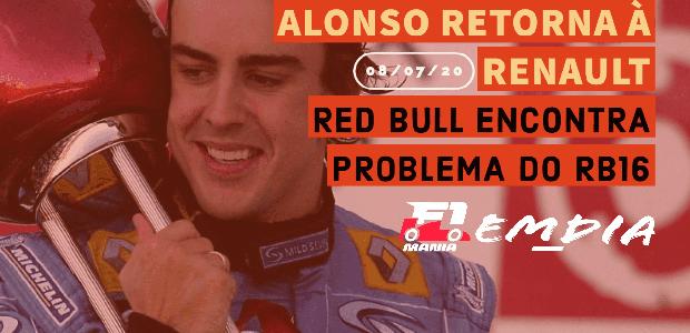 F1Mania Em Dia: Alonso retorna à Renault; Red Bull ...