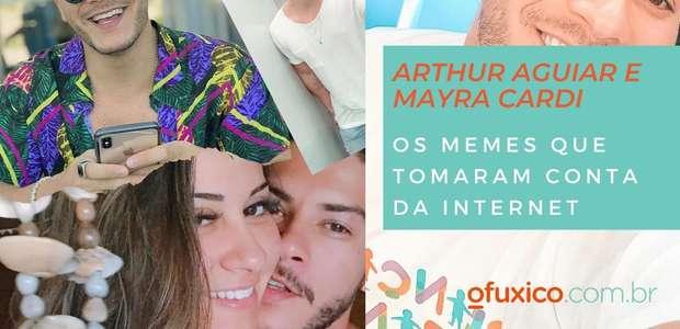 Separação de Arthur Aguiar e Mayra Cardi vira web do avesso