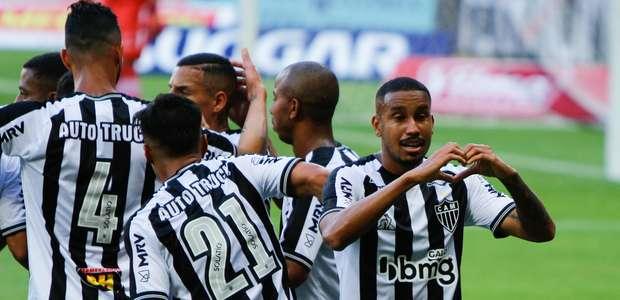 Atlético-MG vencer o Tombense e leva o Campeonato Mineiro