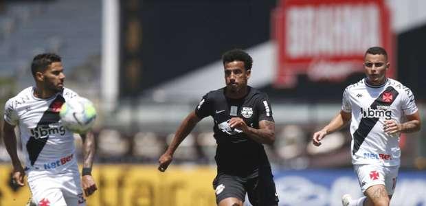 Vasco e Red Bull Bragantino ficam no empate em São Januário