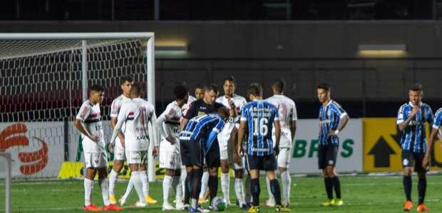 Grêmio diz que pedirá a anulação do jogo contra o São Paulo