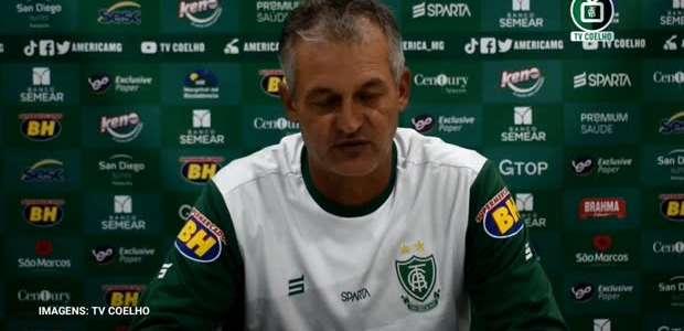 AMÉRICA-MG: Lisca analisa vitória e consolidação do time ...
