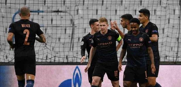 City joga bem e faz 3 no Marselha; Porto vence a 1ª
