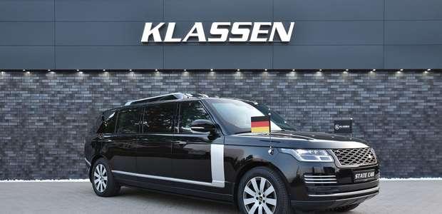 Range Rover limusine custa mais de R$ 7 milhões