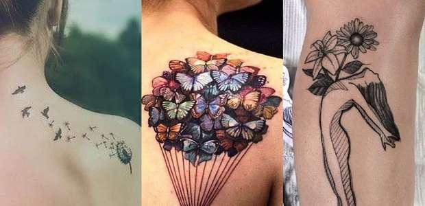 7 ideias de tatuagens que significam liberdade para você ...