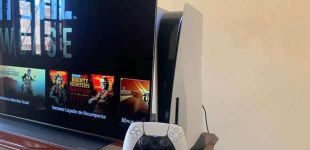 Jogando com o PS5 em TVs 4K