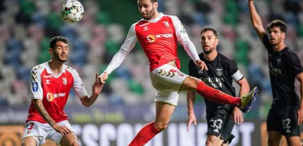 Braga vence o Benfica e está na final da Taça da Liga