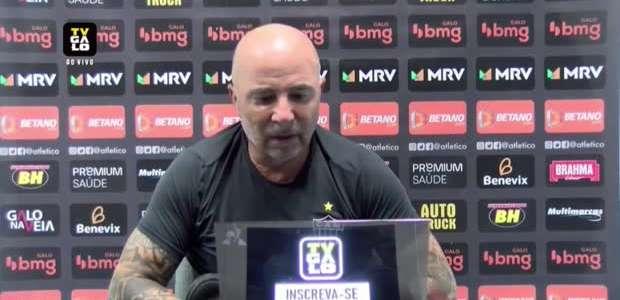 ATLÉTICO-MG: Sampaoli não vê empate como placar justo em ...