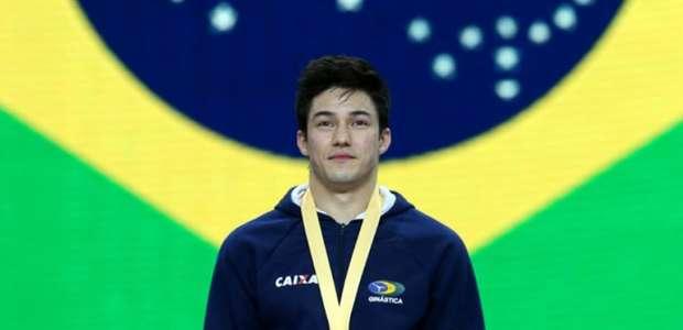 Após assalto, Arthur Nory receberá novas medalhas do Pan