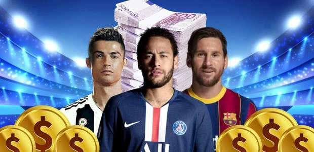 Saiba quantos milhões CR7, Neymar e Messi faturam no Insta
