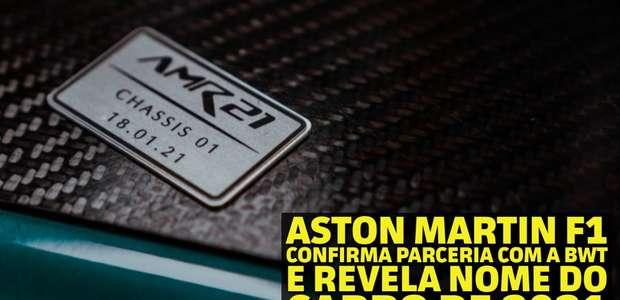 Em Dia: Aston Martin F1 confirma parceria com a BWT e ...