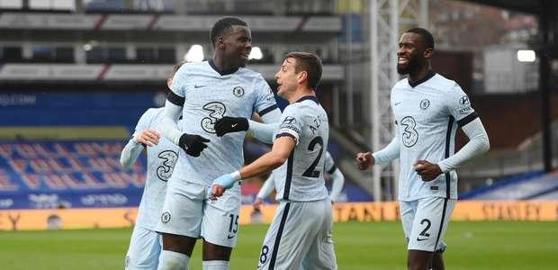 Chelsea atropela o Crystal Palace fora e se consolida no G-4