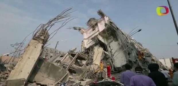 Terremoto em Taiwan deixa 11 mortos e quase 500 feridos