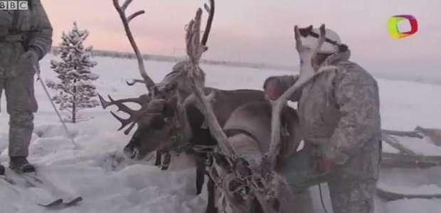 Como militares russos treinam no frio de 30°C abaixo de zero