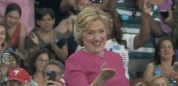Hillary e Kaine fazem 1º ato eleitoral após convenção