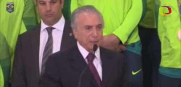 Temer admite que não viu defesa de Dilma no Senado