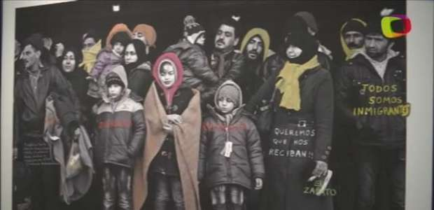 Refugiados e migrantes são retratos de mostra crítica em SP