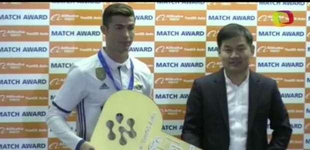 CR7 é eleito melhor jogador do Mundial de Clubes