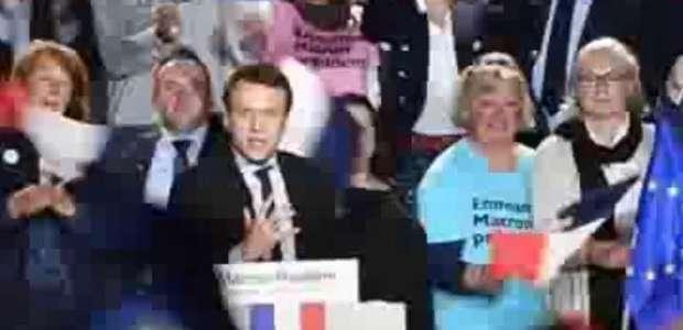 Le Pen surpreende Macron ao visitar operários grevistas