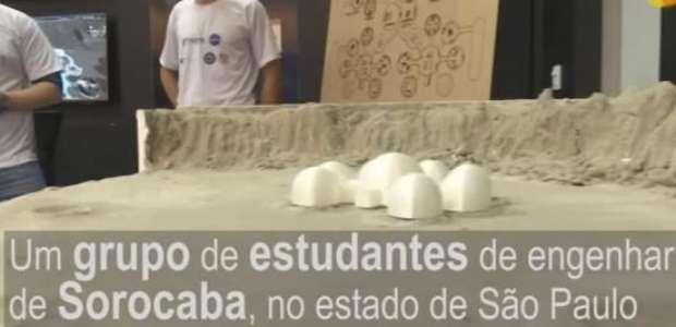 Planos da NASA para casas na Lua são projetados no Brasil