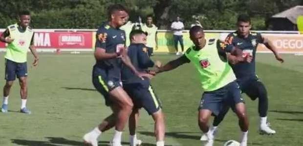 Após amistoso, Seleção treina pressão alta e saída de bola