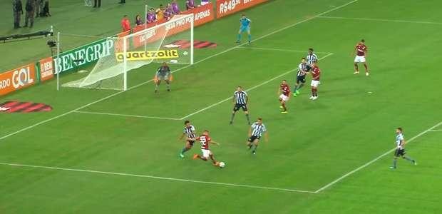 Assista ao gol da vitória do Vasco sobre o Grêmio