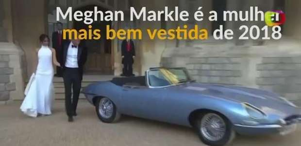 Naturalmente chique: Meghan Markle é a melhor vestida do ano