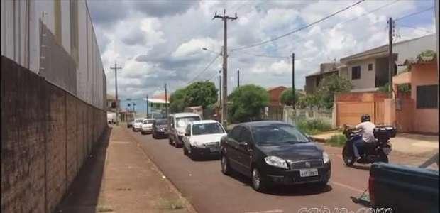 Rua Ipanema passa por reforma no Bairro Periolo