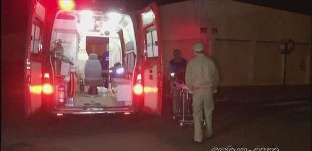 Ciclista fica ferido em acidente na Rua Uruguai