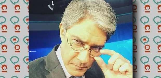 TV Fuxico: William Bonner revela seu carro e surpreende seguidores!