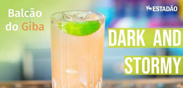 Aprenda a fazer o Dark and Stormy e viaje pelo Caribe em um só gole