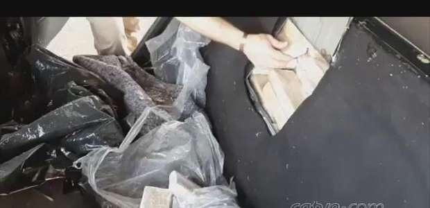 Casal é preso pela PRF com mais de 100 quilos de maconha em Cascavel