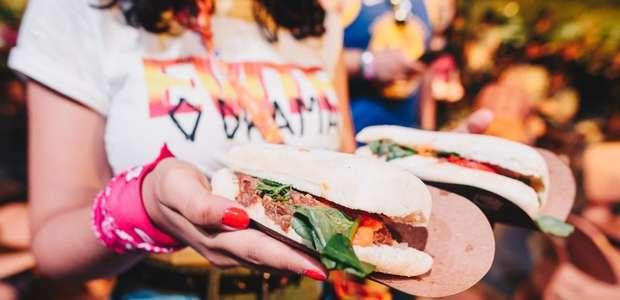 Fast-food ou Gourmet Square? Saiba o que comer no RiR 2019