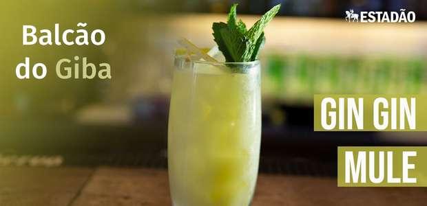 Aprenda a fazer o Gin Gin Mule, um primo de 1º grau do Moscow Mule